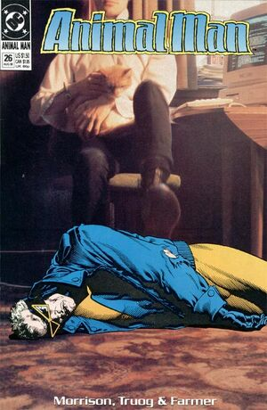 Cover for Animal Man #26 (1990)