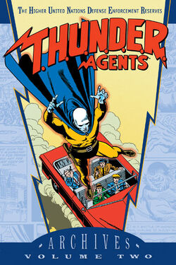Cover for the T.H.U.N.D.E.R. Agents Archives Vol. 2 Trade Paperback