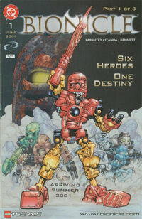 Bionicle Vol 1 1
