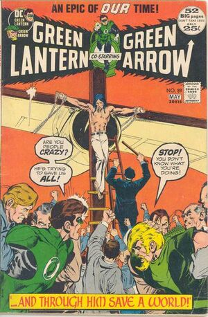 Cover for Green Lantern #89 (1972)