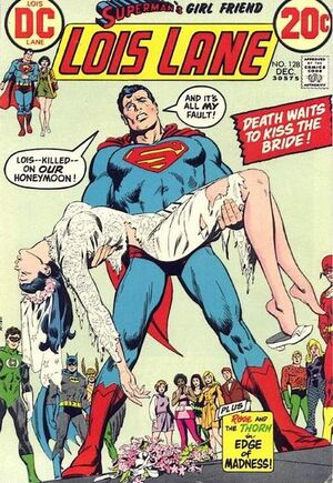 Cover for Superman's Girlfriend, Lois Lane #128 (1972)