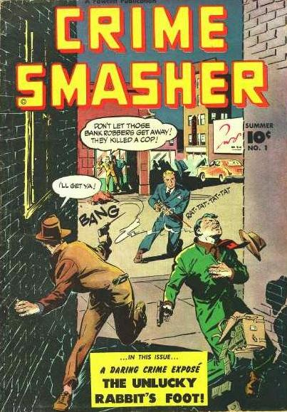 Image result for fawcett comics crime smasher