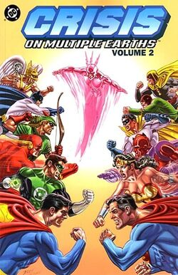 Cover for the Crisis on Multiple Earths Vol. 2 Trade Paperback