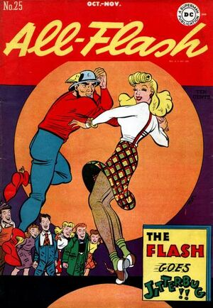 Cover for All-Flash #25 (1946)