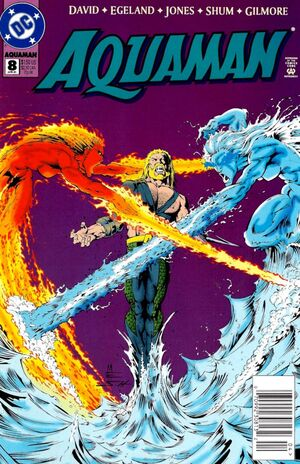 Cover for Aquaman #8 (1995)