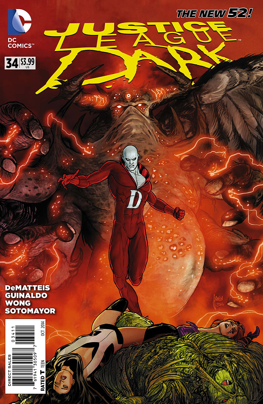 Justice League Dark Vol 1 34 | DC Database | FANDOM ...