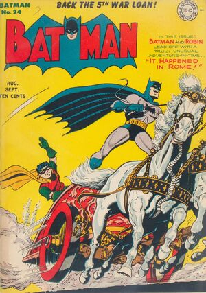 Cover for Batman #24 (1944)