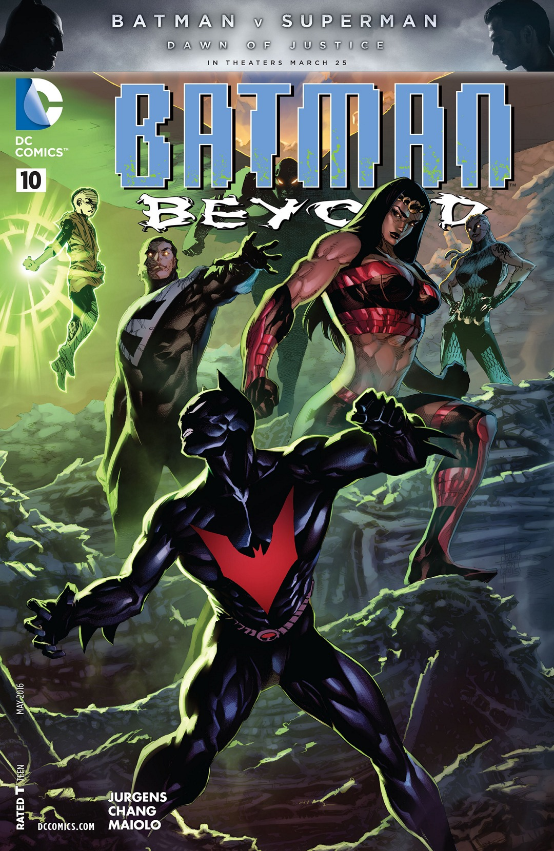 Batman Beyond Vol 5 10 | DC Database | Fandom powered by WikiaNew 52 Batman Beyond