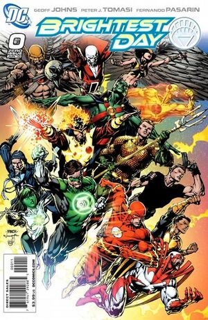 Cover for Brightest Day #0 (2010)