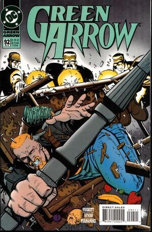 Cover for Green Arrow #92 (1994)