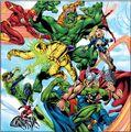 JLA Year One vs. the Founding Avengers