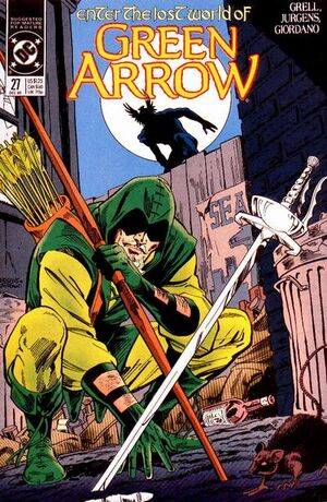 Cover for Green Arrow #27 (1989)
