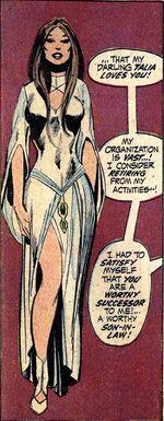 Talia, lover of Batman