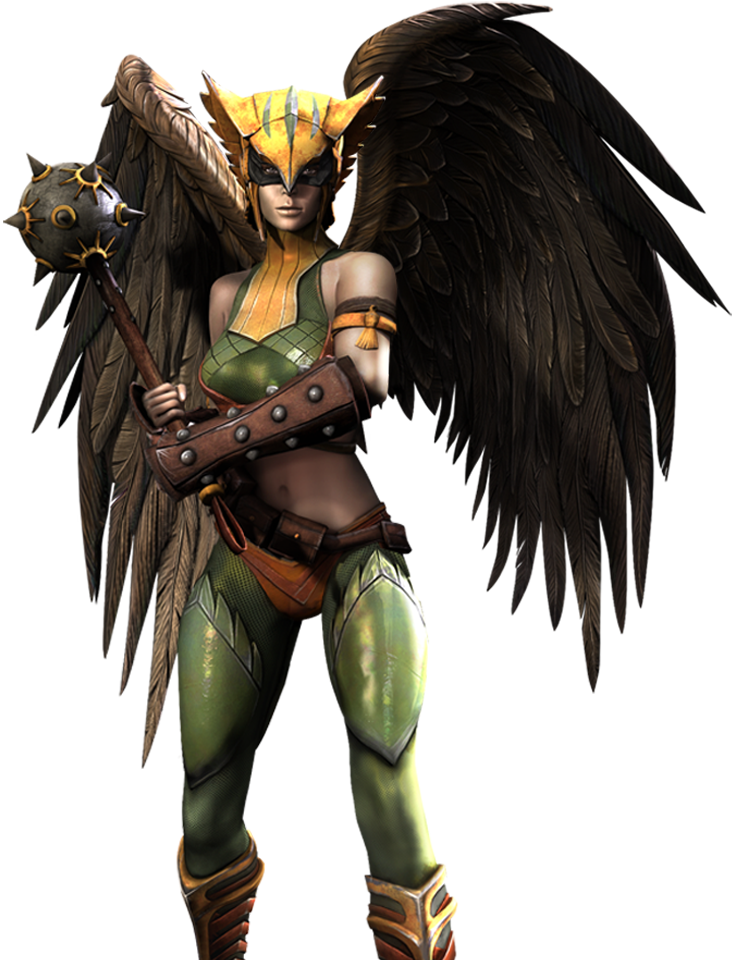 Shiera Hall (Injustice Gods Among Us) 001