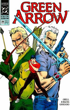 Cover for Green Arrow #28 (1990)