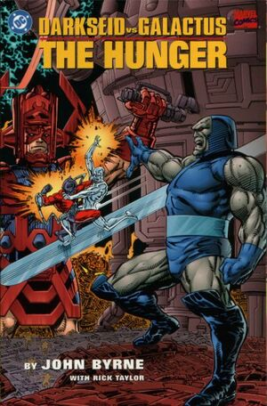 Cover for Darkseid vs Galactus: The Hunger #1 (1995)
