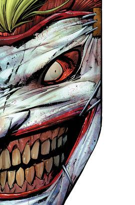 Joker Face Die-Cut Cover