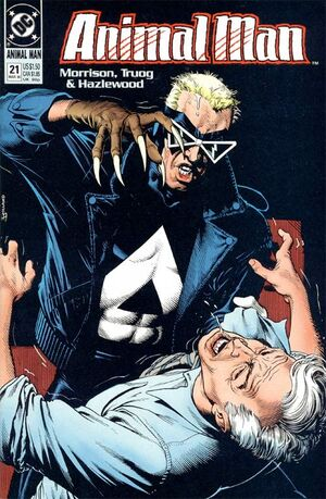 Cover for Animal Man #21 (1990)