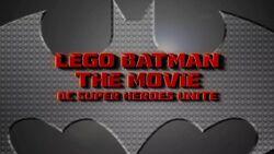 LEGO Batman The Movie