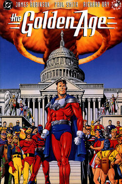 Cover for the Golden Age Trade Paperback