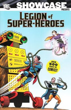 Cover for the Showcase Presents: Legion of Super-Heroes Vol. 2 Trade Paperback