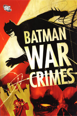 Cover for the Batman: War Crimes Trade Paperback