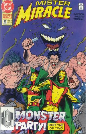 Cover for Mister Miracle #26 (1991)