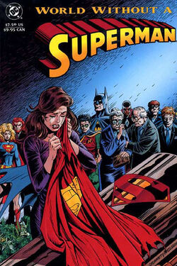 Cover for the World Without a Superman Trade Paperback