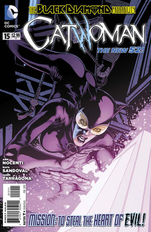 Cover for Catwoman #15 (2013)