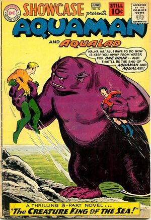 Cover for Showcase #32 (1961)