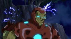 Iron Man Damaged UA2