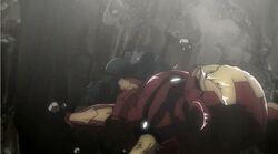 War Machine Throws Iron Man IMRT