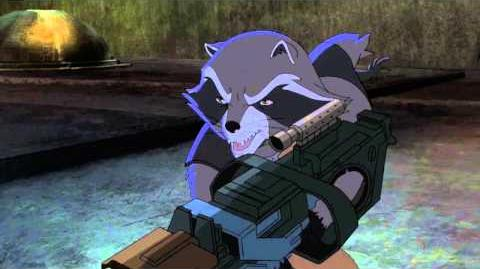 Marvel's Guardians of the Galaxy - Animated Teaser