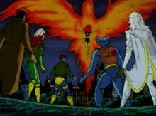 Phoenix vs X-Men