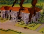 Damaged Xavier Mansion PXM