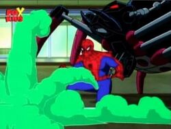 Spider-Man Defeated by Spider-Slayers
