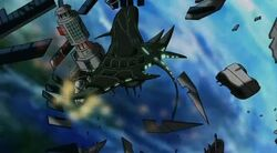 Chitauri Destroy Satellite UA