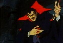 Dracula Pulls Out Spoke DSD
