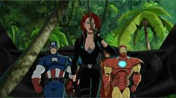 Widow Leads Avengers UA2