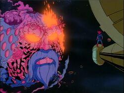 Ego Confronts Galactus