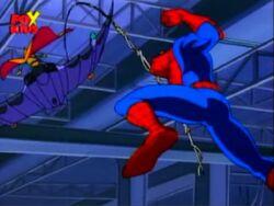 Spider-Man Swings Hob Wing