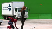 Spider-Man & Black Widow (Behind the Scenes - The Making of CACW)