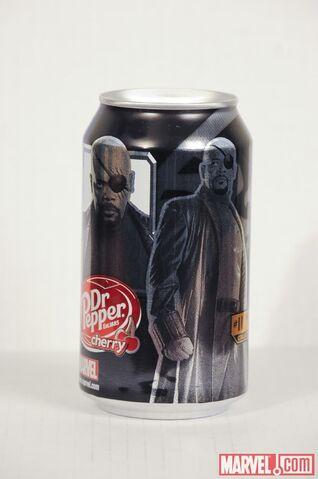File:Dr Pepper IM2 can 9 - Director Fury.jpg