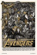 Avengers Age of Ultron Tyler Stout poster 2