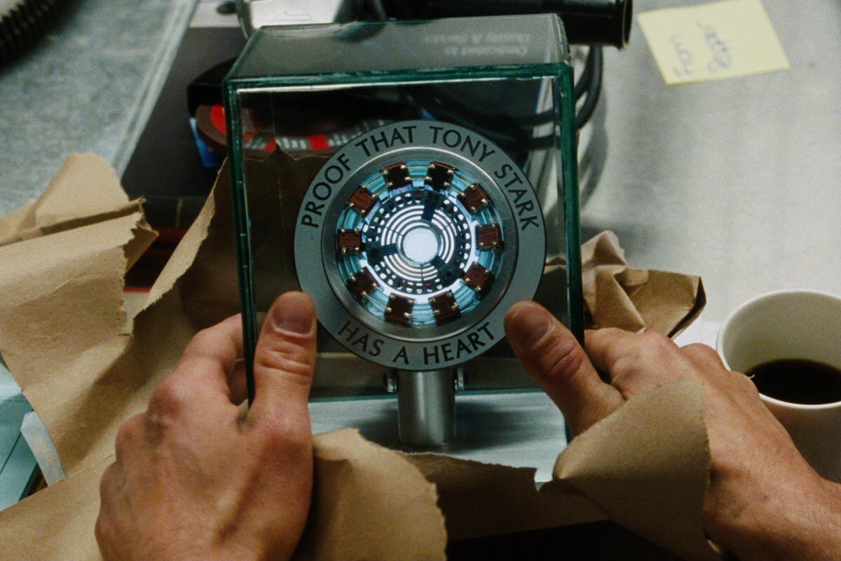 Does Tony Stark Have A Heart