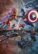 Captain America Civil War Lego promo