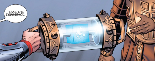 File:Thor giving the Tesseract to Heimdall.PNG