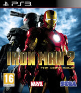 IronMan2 PS3 EU cover