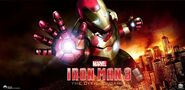Iron Man 3 The Official Game banner