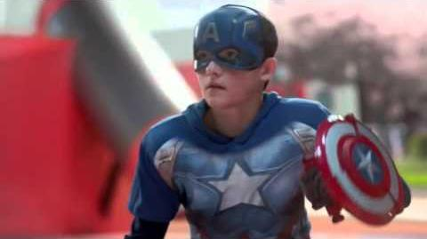 Target Commercial 2016 Captain America Civil War